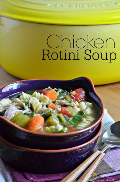 Soup, Chicken Vegetable Rotini