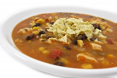 Soup, Mexican-Style Chicken Tortilla, Home Style