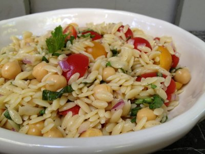 Chicken & Orzo with Lemon