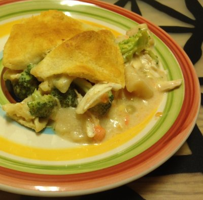 Hearty Chicken Pot Pie Style