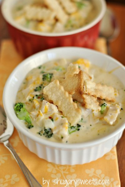 Light Chicken & Cheese Enchilada Flavor Soup