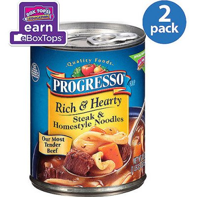 Rich & Hearty Steak & Homestyle Noodles