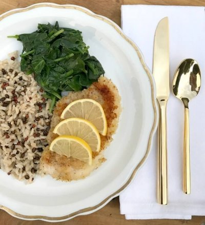 Savory Chicken With White & Wild Rice