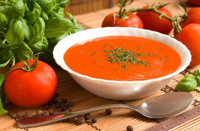 Soup, Harvest Tomato with Basil