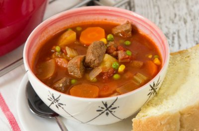 Soup, Old Fashioned Vegetable Beef