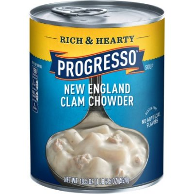 Rich & Hearty New England Clam Chowder