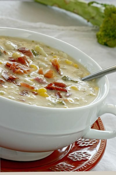 Rich & Hearty, Soup, Chicken Corn Chowder