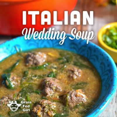 Soup, Italian Style Wedding with Meatballs & Chicken
