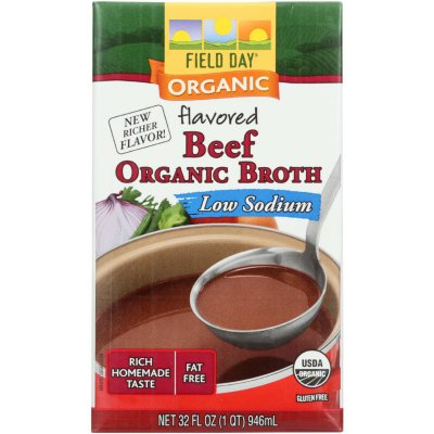 Broth, Low Sodium, Beef Flavored