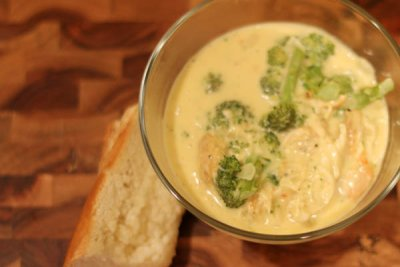 cheddar Broccoli, Hearty Soup Bowl