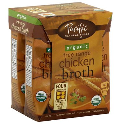 Chicken Broth, Organic Fat Free
