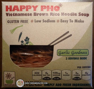 Garlic Goodness Vietnamese Brown Rice Noodle Soup