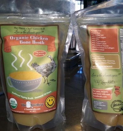 Organic Bone Broth, Chicken Original