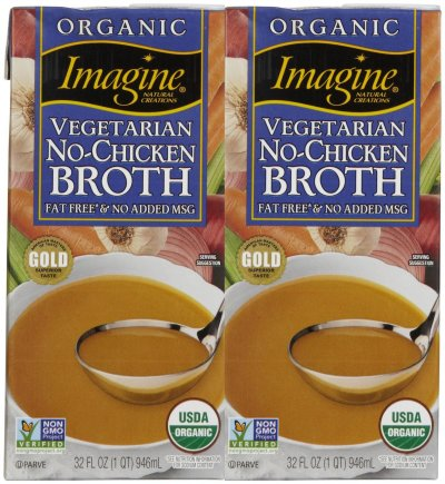 Organic No-Chicken Broth