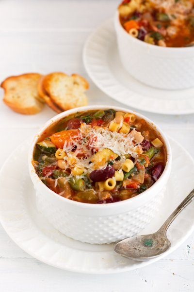 Soup, All Natural, Minestrone