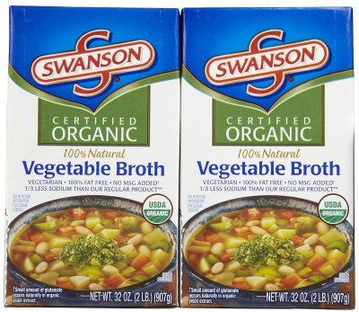Certified Organic Vegetarian Vegetable Broth