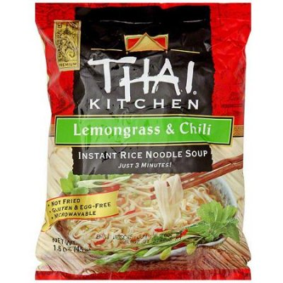Instant Rice Noodle Soup, Lemongrass And Chili