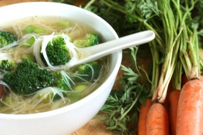 Soup, Vegan, Chinese Noodle