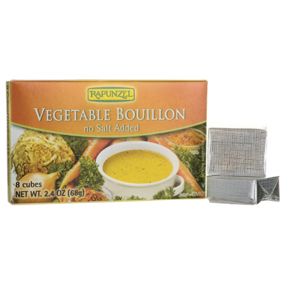 Vegetable Bouillon, Vegan, No Salt Added