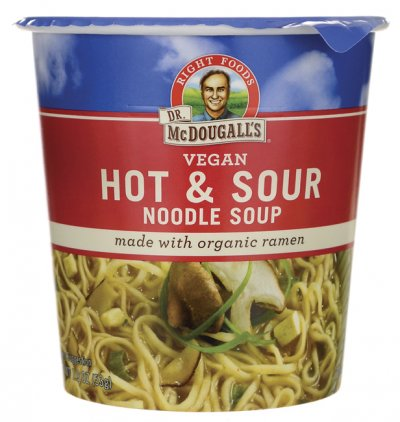 Hot & Soup, Noodle Soup, Made With Organic Ramen