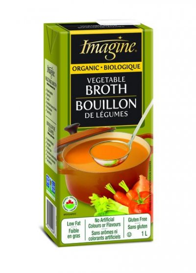 Organic Vegetable Broth, Fat Free