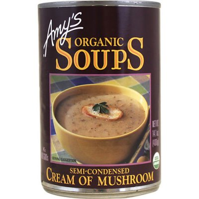 Condensed Soup, Cream of Mushroom, Organic
