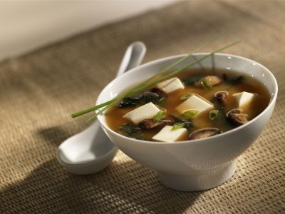 Green Onion Miso Soup