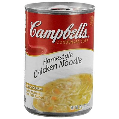 Soup, Condensed, Homestyle Chicken Noodle