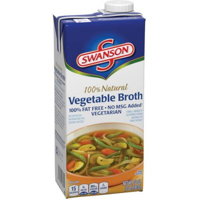 100% Natural Vegetable Broth