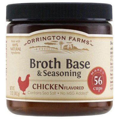 Broth Base & Seasoning, Chicken Flavored