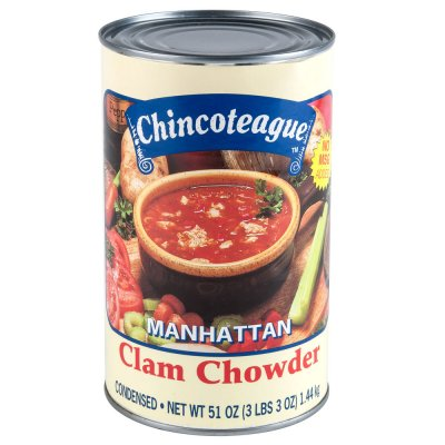 Condensed Soup, Manhattan Clam Chowder