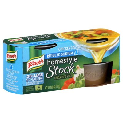 Reduced Sodium Homestyle Chicken Stock