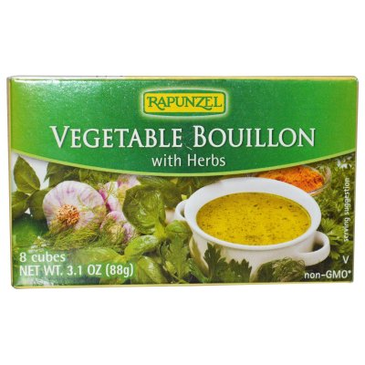 Vegetable Bouillon With Herbs