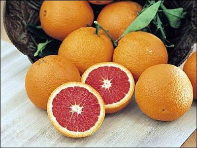 Orange, Navel, Cara, Cara, Red