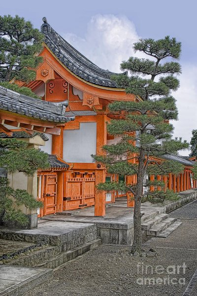 Orange, Temple, Large