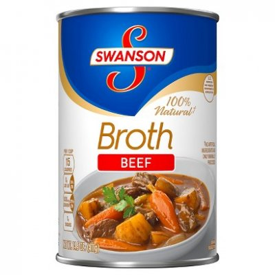 100% Natural  Beef Broth