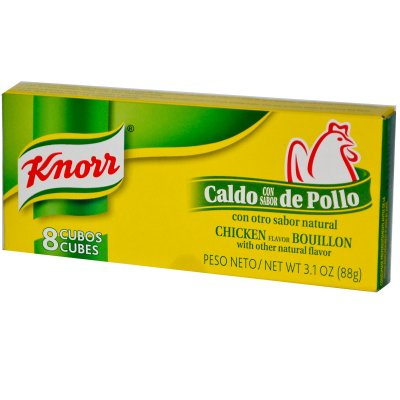 Chicken Flavor Bouillon Cubes