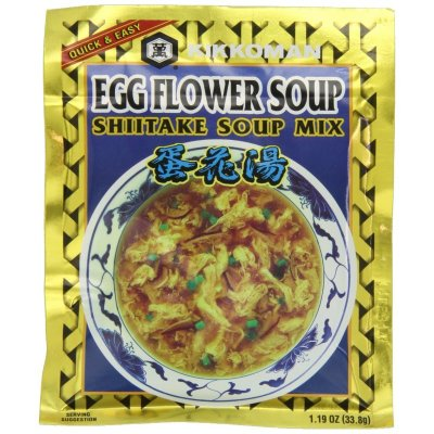 Shiitake Soup Mix, Egg Flower Soup