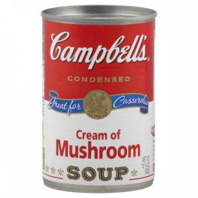 Soup, Condensed, Cream of Mushroom