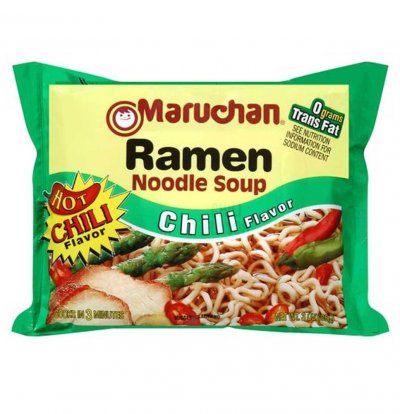 Chili Flavor Top Ramen Noodles