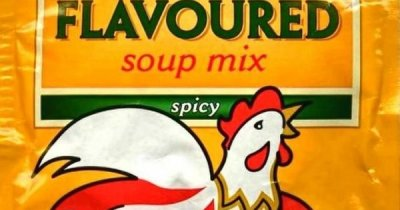Flavoured Soup Mix, Spicy, Cock