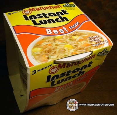 Instant Lunch Beef Flavor Soup