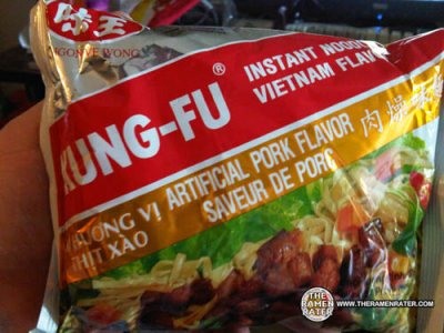 Instant Noodles, Artificial Pork Flavor