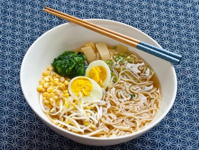 Ramen Noodle Soup, Chicken