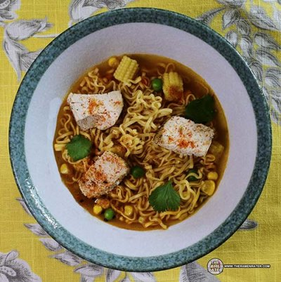 Ramen Noodle Soup, Roast Chicken Flavor