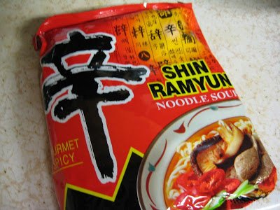 Shin Ramyun Noodle Soup, Hot & Spicy