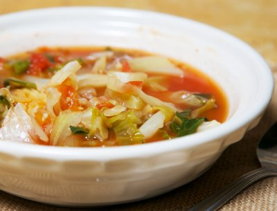 Tomato Bouillon with Chicken Flavor