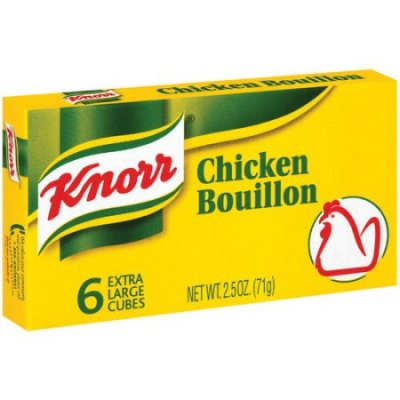 Chicken Bouillon, Extra Large Cubes
