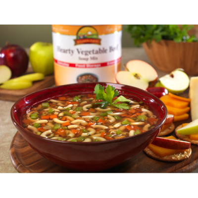 Hearty Soup Mix, Homestyle Chicken Noodle, Chicken Flavor