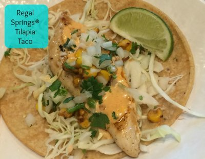Regal Springs Grilled Tilapia Taco